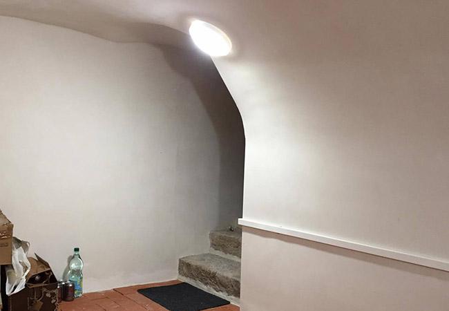 Eclairage de cave